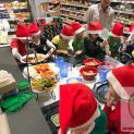 Weihnachtsausflug in den Rewe-Markt