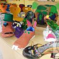 Schuhe werden zu Kunstobjekten