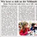 Wie lernt es sich an der Schlausitz-Grundschule