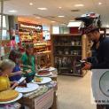Ampelkuchenverkauf im Rewe-Markt Senftenberg